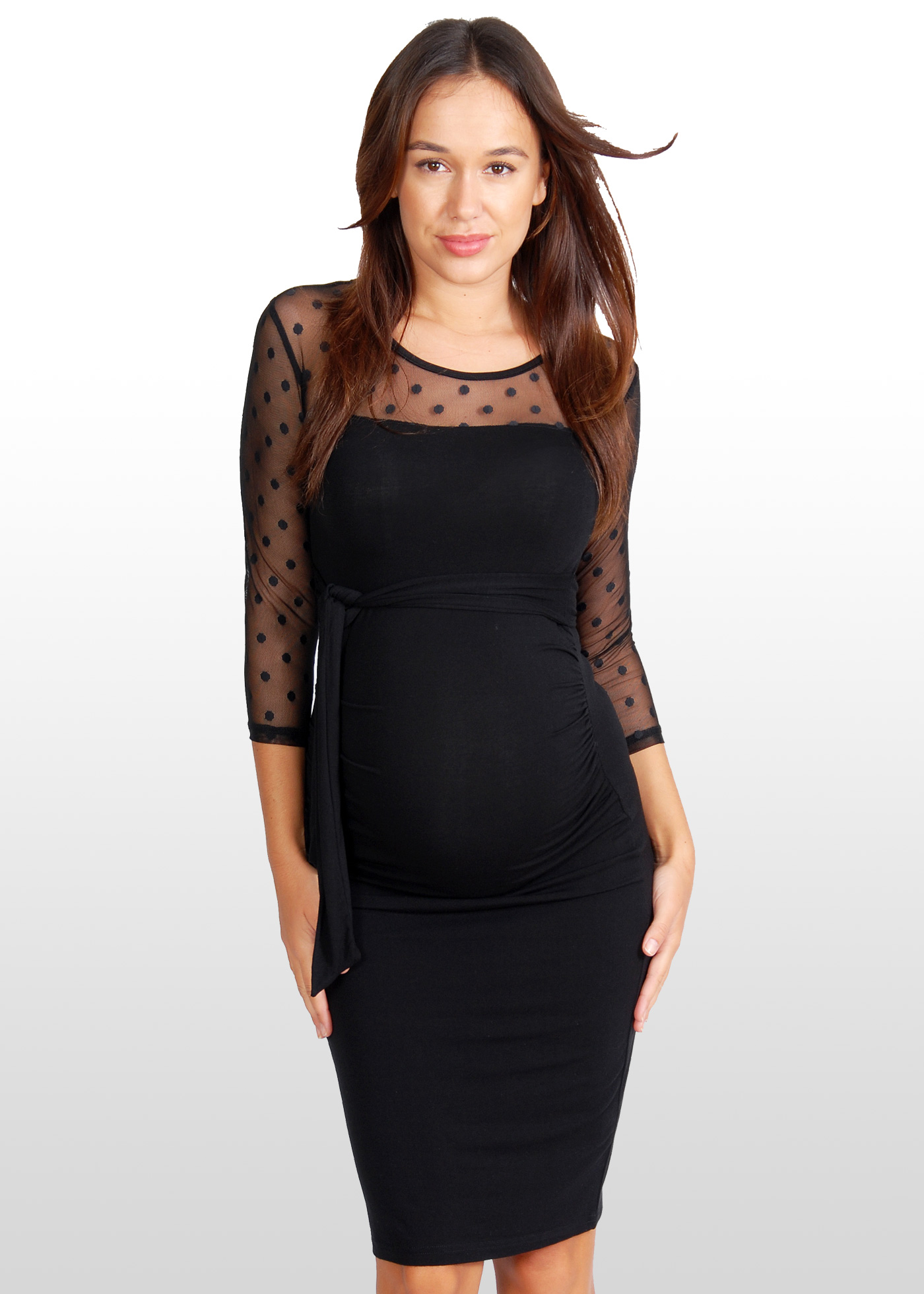Evening Wear Maternity Tops 29
