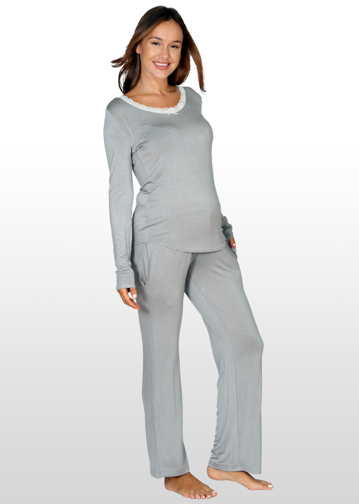 Maternity Pyjama Set with nursing access only $58.
