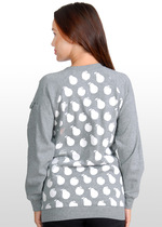 Apple/Pear Print Nursing Sweater