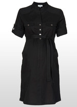 Black Shirt-Dress
