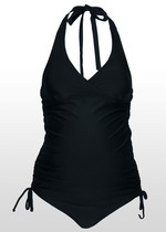 Black Maternity Tankini Swimmers