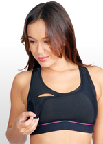High Impact Sports Nursing Bra - Black