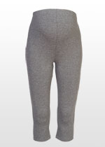 3/4 grey marle leggings