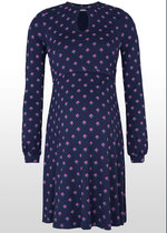 Geo Floral Nursing Dress