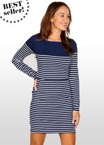 Breton Stripe Nursing Dress