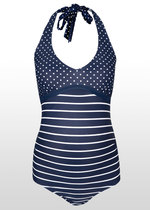 Nautical Stripe & Spot Swimsuit