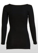 Long-Sleeve Black T-Shirt