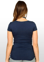 Navy Blue Nursing T-shirt
