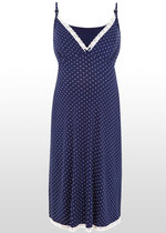 Polka Dot Maternity Nightie