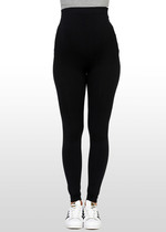 Slimform Black Maternity Leggings