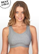 High Impact Sports Nursing Bra - Grey