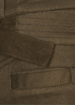 Brown skinny cargo pants