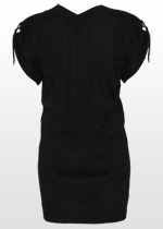 Knitted black tunic