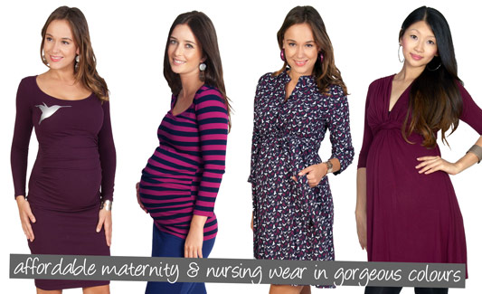 Affordable maternity and nursing wear that's so chic