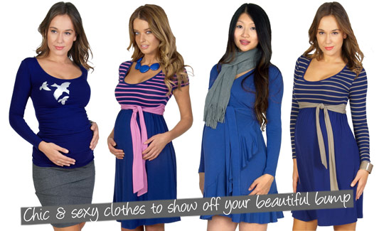 Chic and sexy clothes to show off your beautiful bump