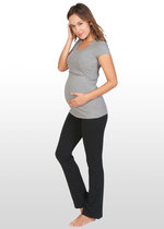 Boot-leg Yoga Maternity Pants