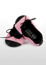 Pink/Black Girls Ballet Shoes