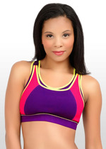 High Impact Sports Nursing Bra - Purple
