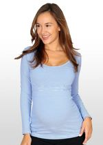 "Blue/white Striped Nursing Top GET 20%OFF USE ""SAVE20"""