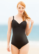 Jojo Maman Black Maternity Bathers