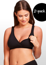 2 Pack Maternity & Nursing Sleep Bra