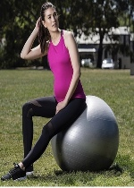 Jet Black Pregnancy Tights - BUY ONE GET ONE FREE
